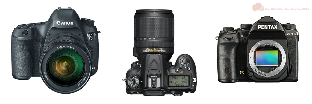 The Best and Most Recommended DSLR Cameras - 2016